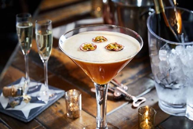 Slug and Lettuce Pornstar Martini