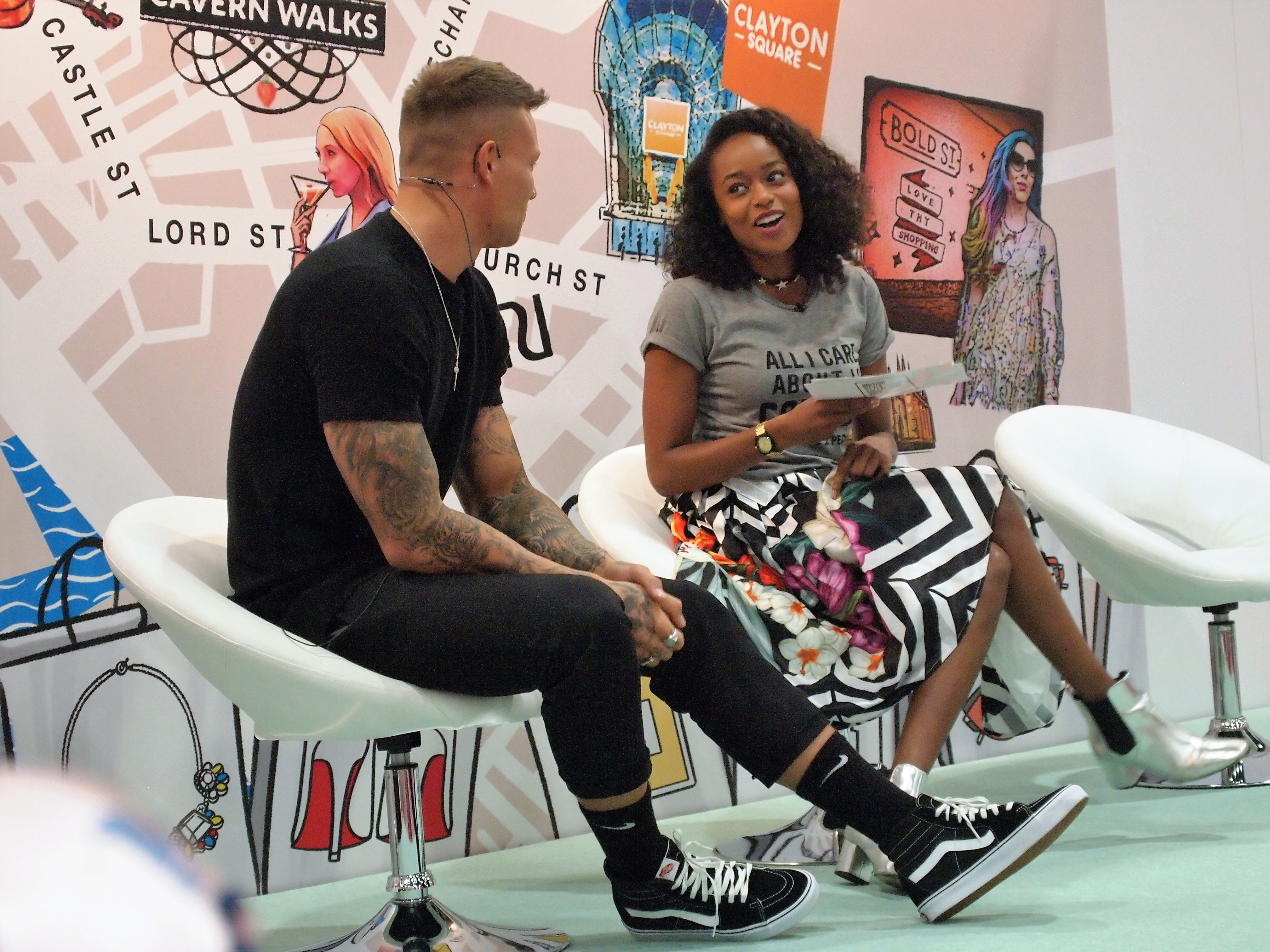 Alex Bowen from Love Island speaks about his plans for the future on the Expert Stage
