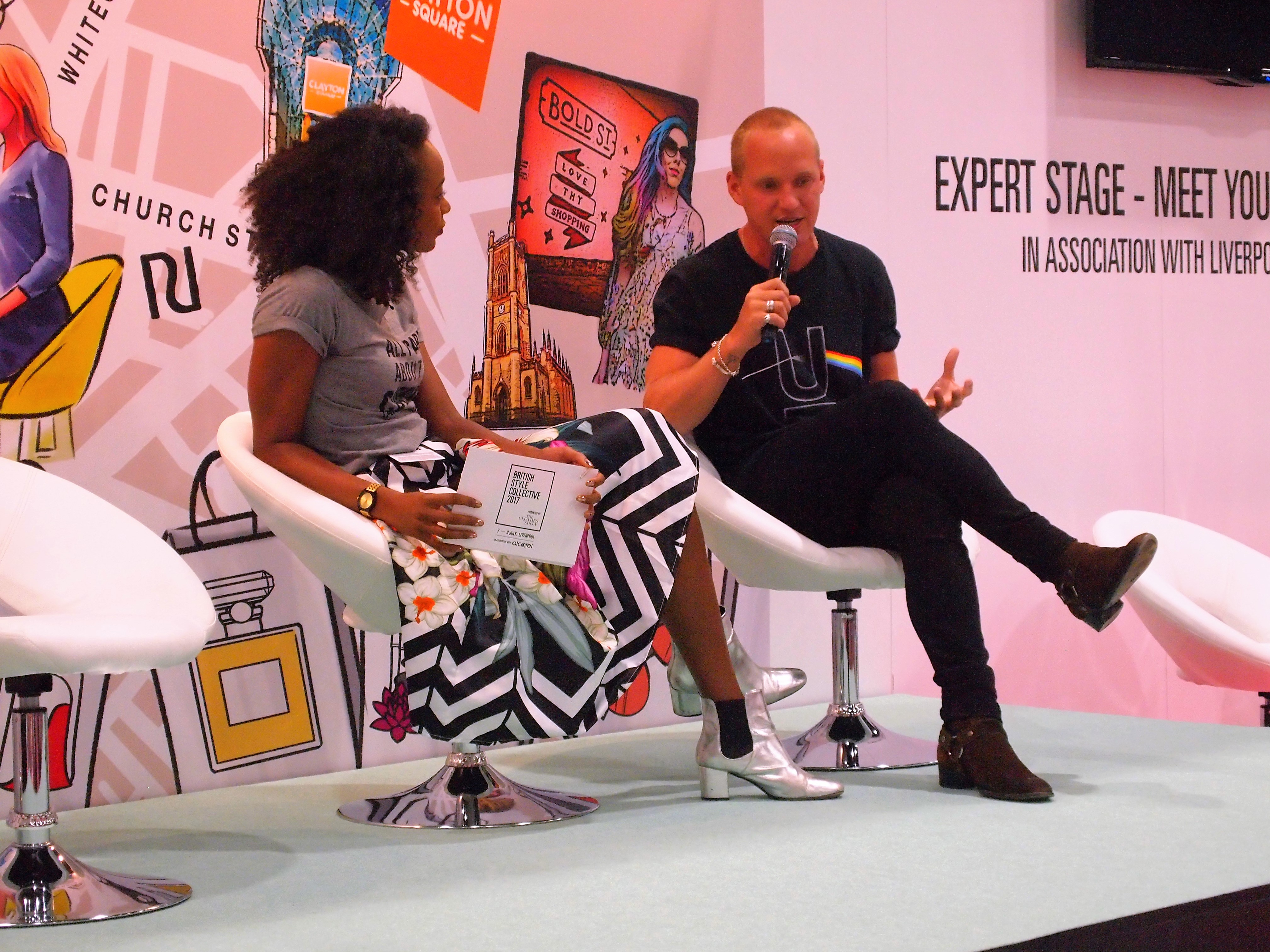 Jamie Laing talks about his brand 'Candy Kittens' on the Expert Stage