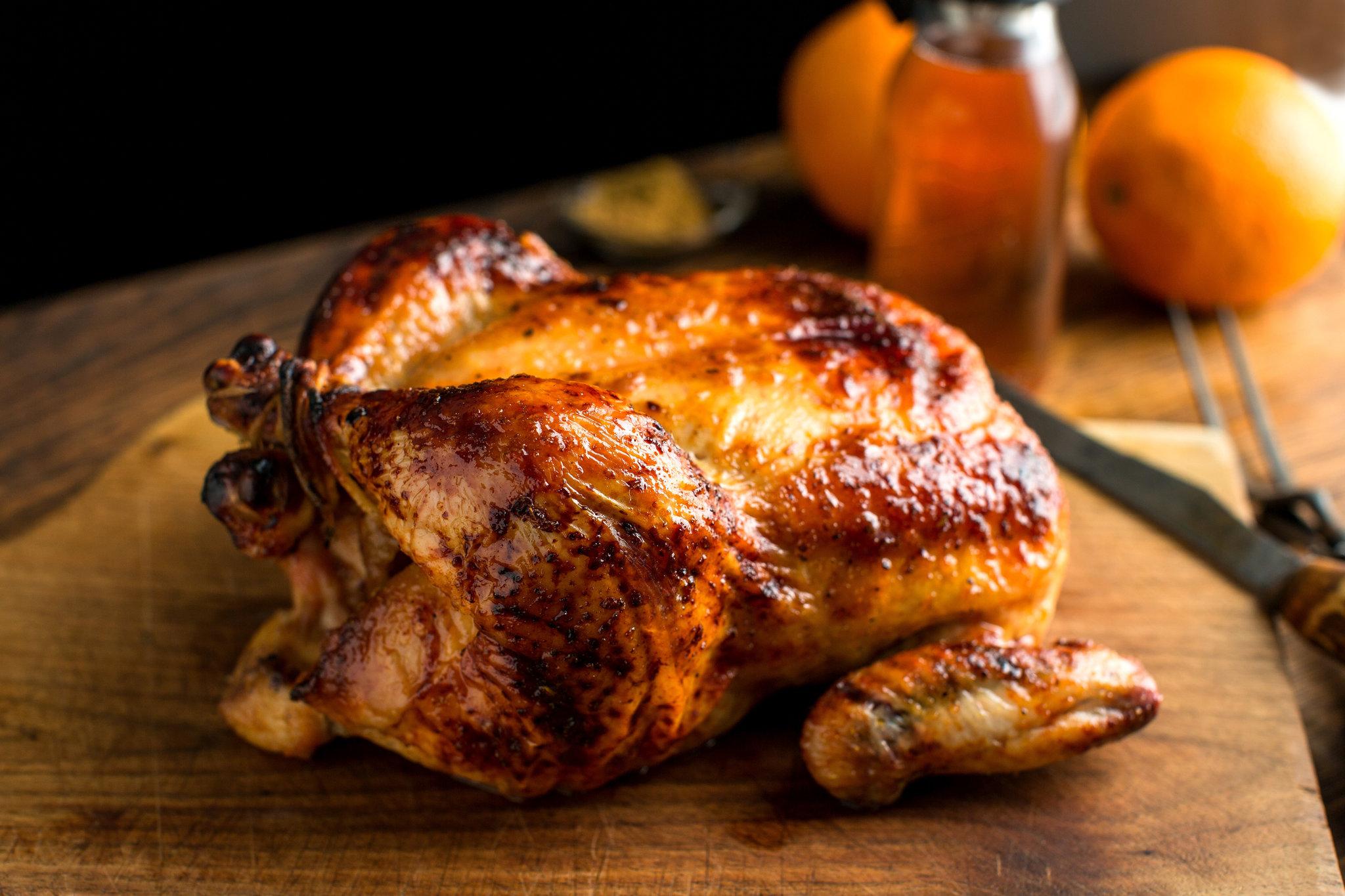 Chicken roast with spice