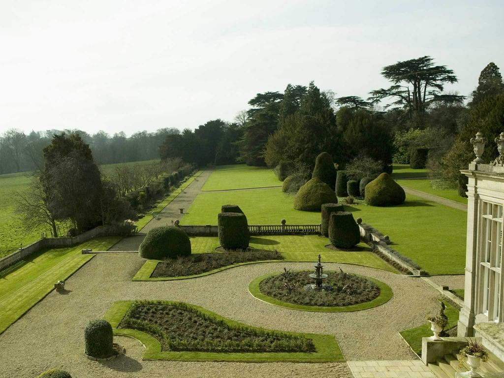Grounds of the manor