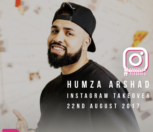 Humza Arshad Instagram Takeover