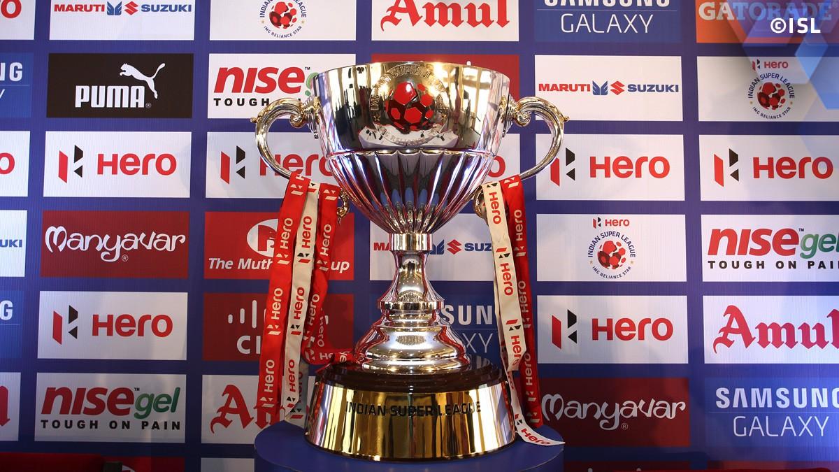 indian super league trophy