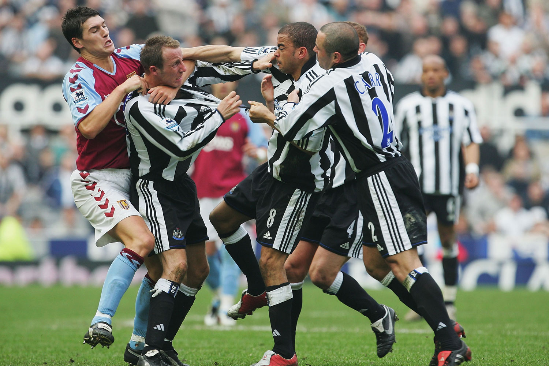 Fight between teams