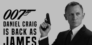 Daniel Craig is back as James Bond