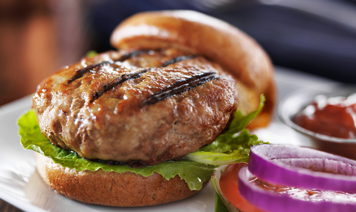 Turkey Mint Burger