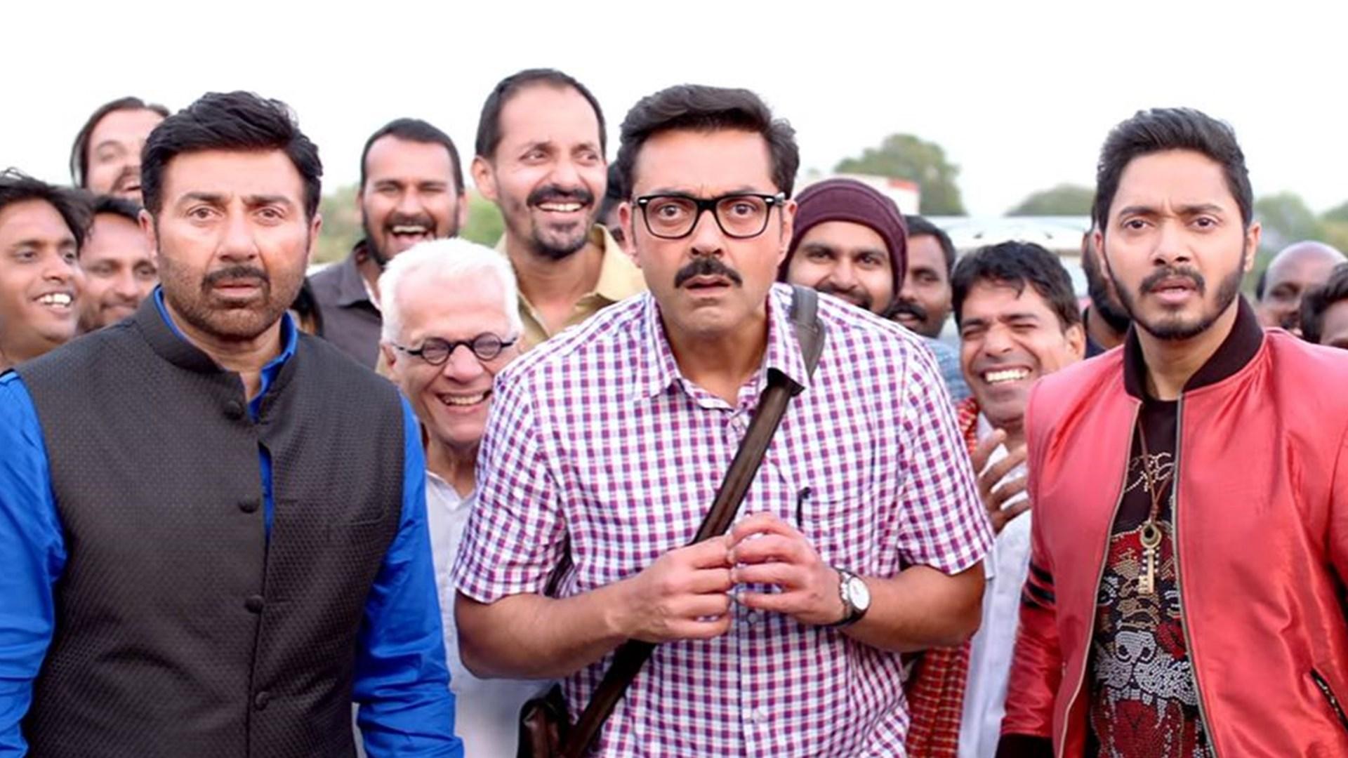 The Trio - Sunny Deol Bobby Deol and Shreyas Talpade