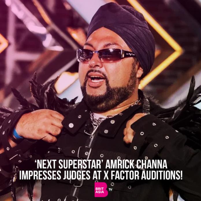 Amrikc Chana X factor hopeful