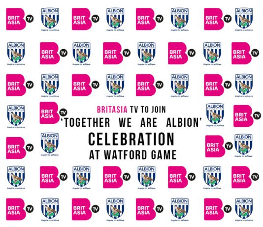 BRITASIA TV TO JOIN 'TOGETHER WE ARE ALBION' CELEBRATION AT WATFORD GAME