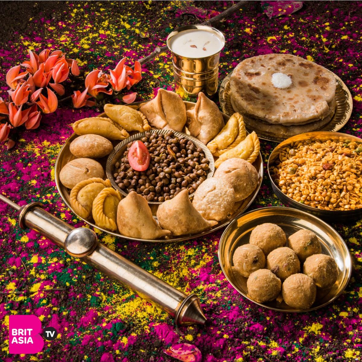Food at Holi