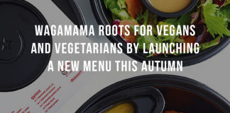 WAGAMAMA ROOTS FOR VEGANS AND VEGETARIANS BY LAUNCHING A NEW MENU THIS AUTUMN