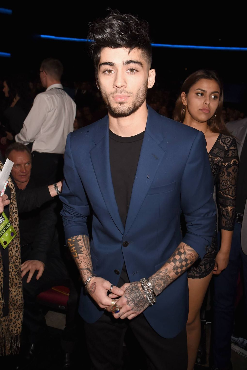 Zayn Malik winner of Best Dressed at GQ Awards