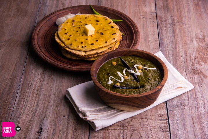 Saag- indian vegetarian food