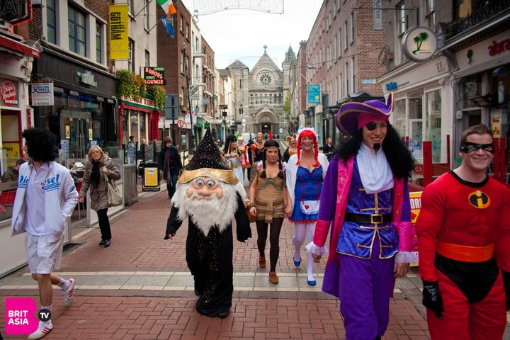 Halloween in Dublin