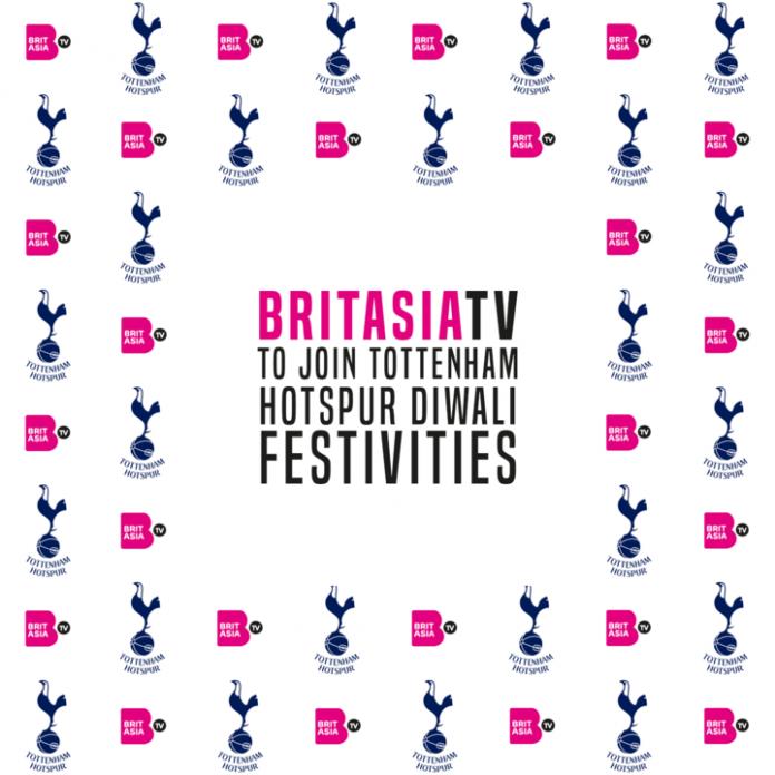 BRITASIA TV TO JOIN TOTTENHAM HOTSPUR DIWALI FESTIVITIES