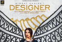 NEW RELEASE: NIMRAT KHAIRA – DESIGNER
