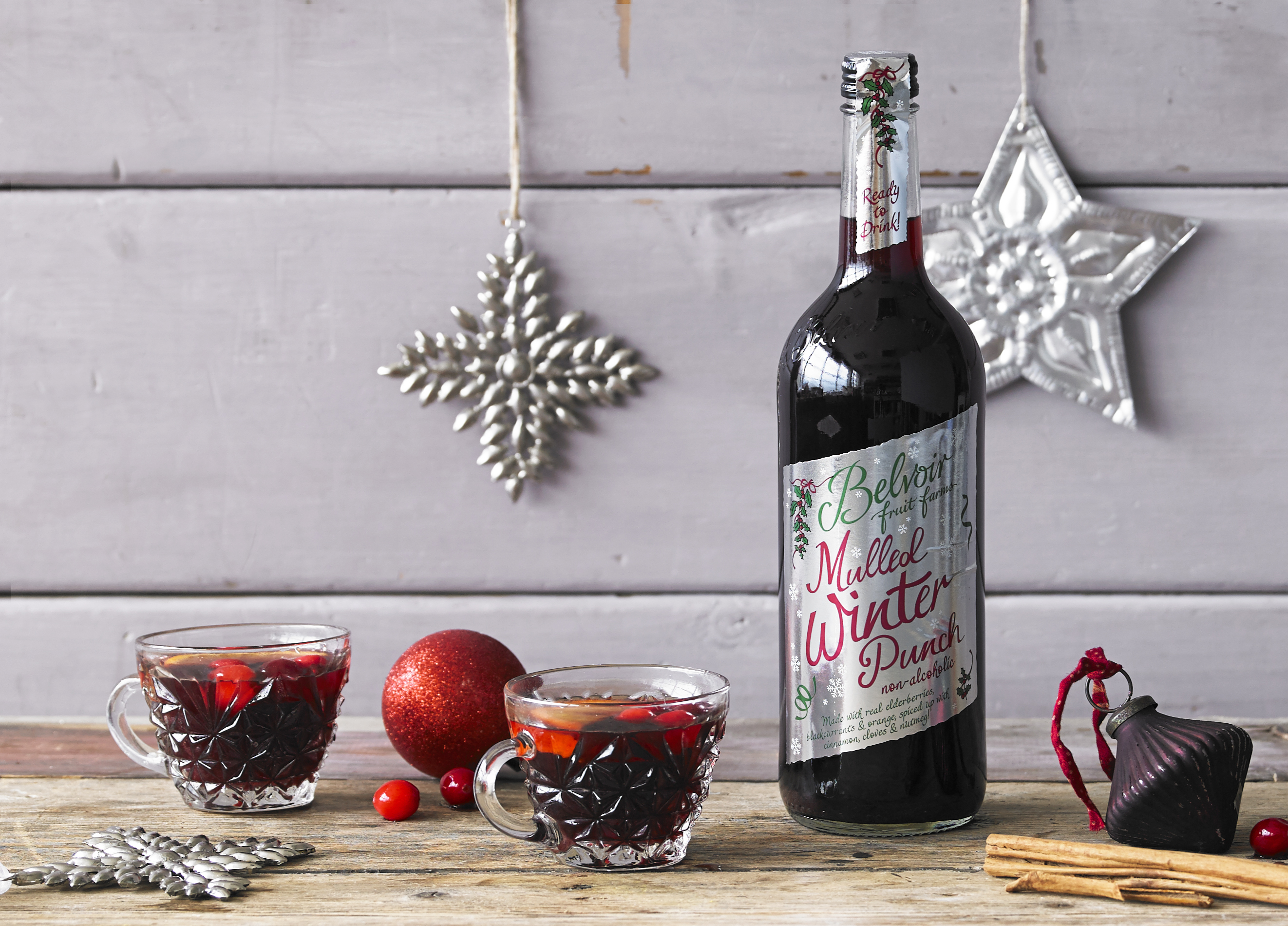 Mulled Winter Punch by Belvoir