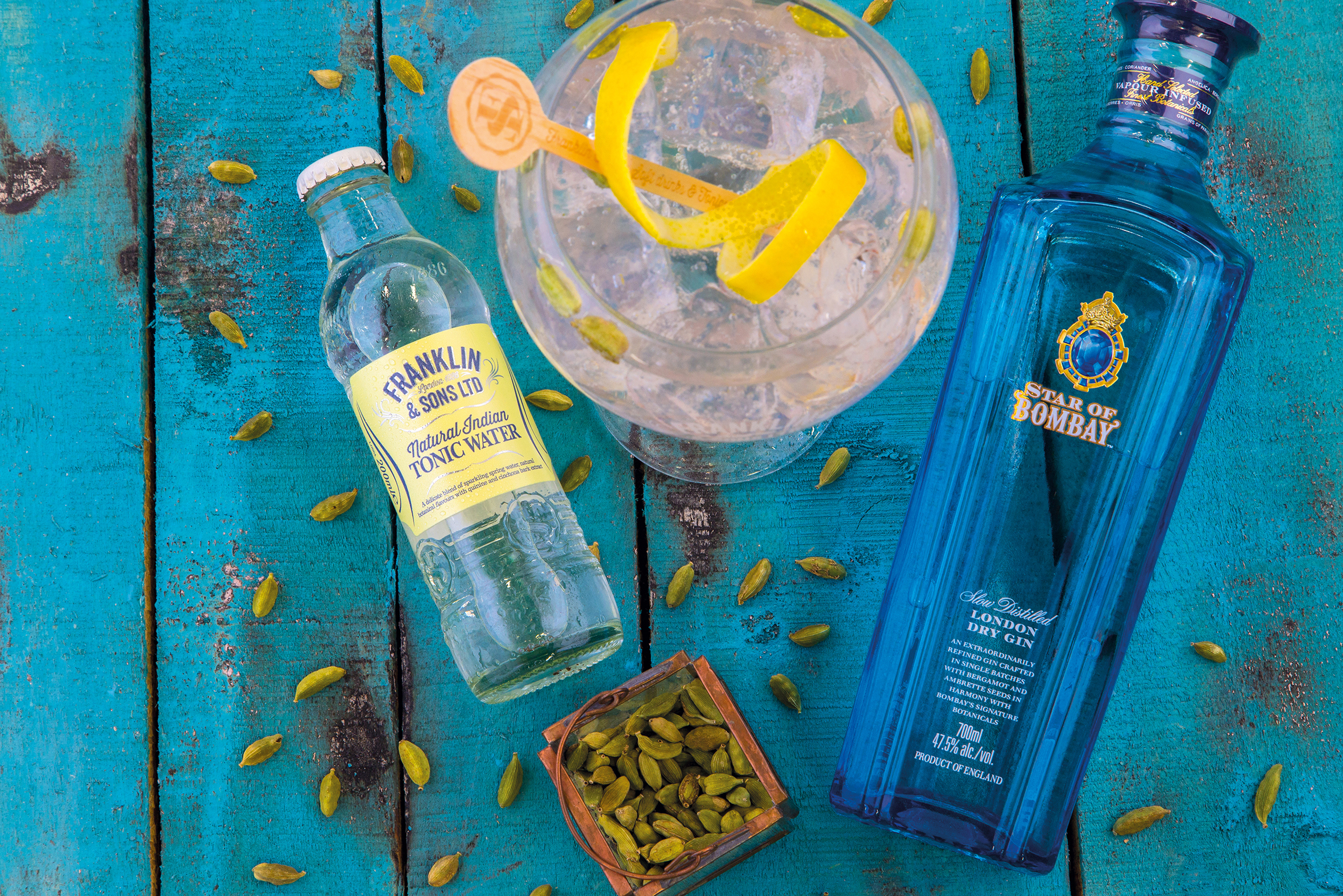 Star of Bombay & Natural Indian Tonic Water