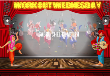 #WORKOUTWEDNESDAY WITH GABRU CHEL CHABILEH