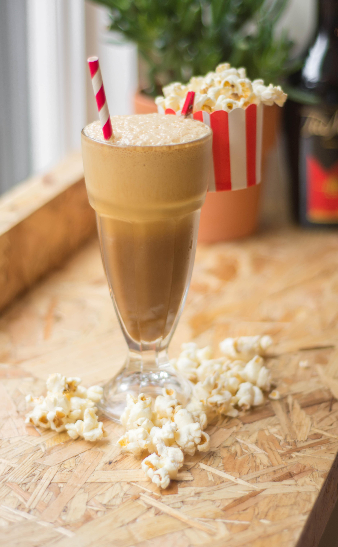 Iced Popcorn Frappe