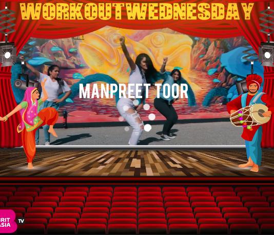 #WORKOUTWEDNESDAY WITH MANPREET TOOR