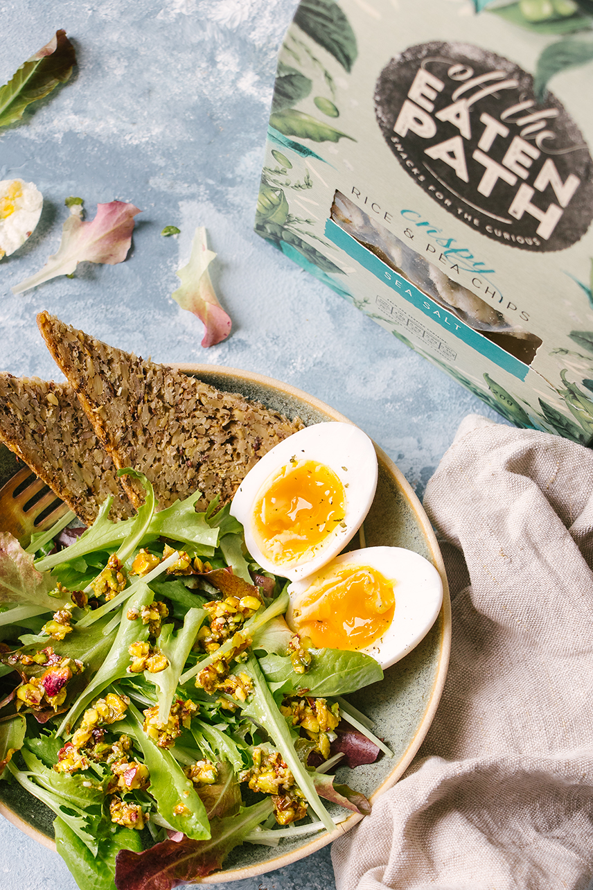 Six Minute Dukkah Egg Salad Box - perfect for mealtimes