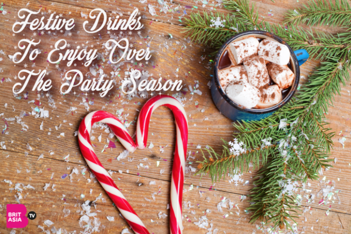 FESTIVE DRINKS TO ENJOY OVER THE PARTY SEASON