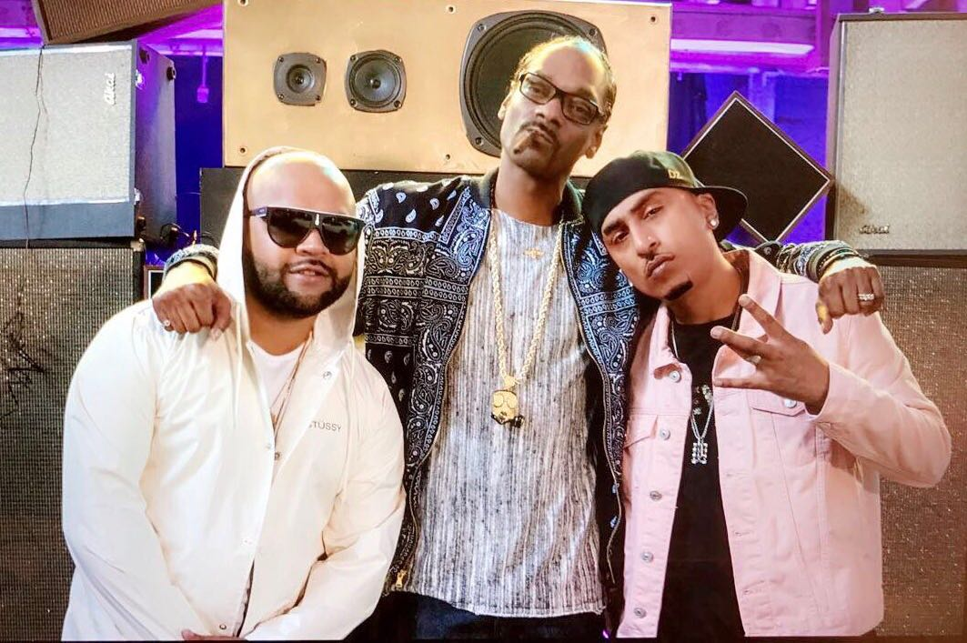 Snoop Dogg with Zeus and Zora