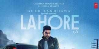 NEW RELEASE: GURU RANDHAWA – LAHORE