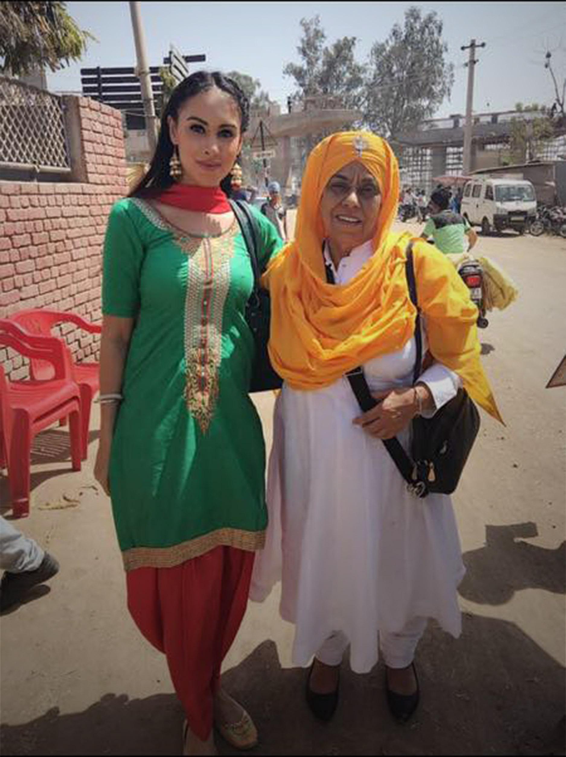 Deana Uppal with Nirmal in Hard Kaur