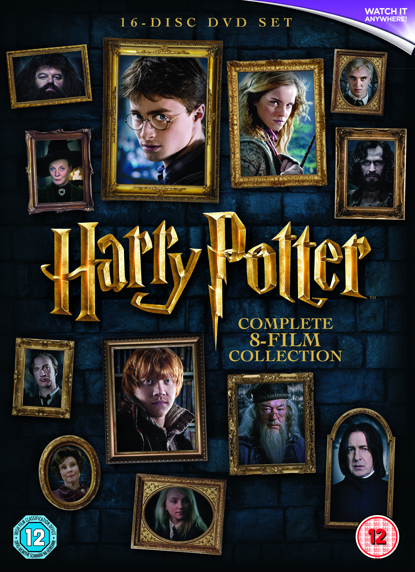 Harry Potter: The Complete Collection Years 1-7 (8pk)