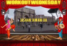 #WORKOUTWEDNESDAY WITH JASHAN JAWANI DA