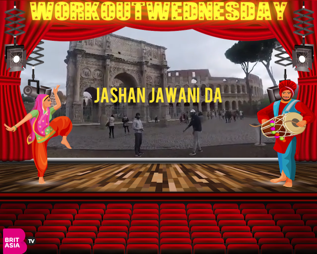 #WORKOUTWEDNESDAY WITH JASHAN JAWANI DA