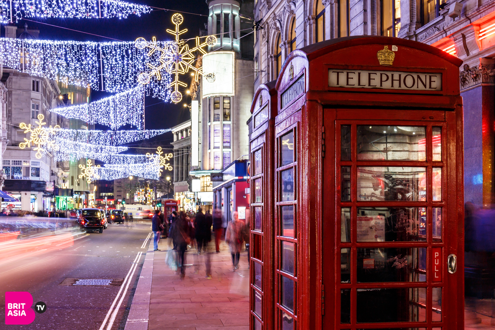 Christmas Light Displays in London