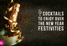 COCKTAILS TO ENJOY OVER THE NEW YEAR FESTIVITIES