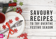SAVOURY RECIPES TO TRY OVER THE FESTIVE SEASON