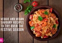 VEGGIE AND VEGAN SAVOURY RECIPES TO TRY OVER THE FESTIVE SEASON
