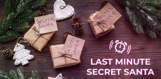 LAST MINUTE SECRET SANTA PRESENTS