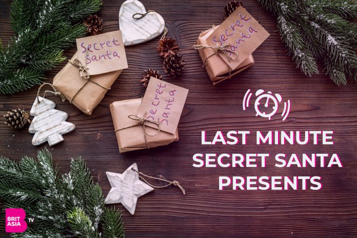 LAST MINUTE SECRET SANTA PRESENTS