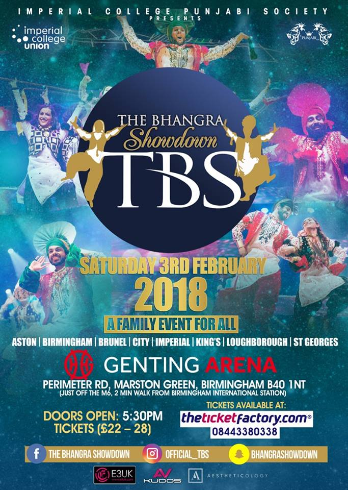 THE BHANGRA SHOWDOWN 2018