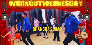 #WORKOUTWEDNESDAY WITH BHANGRA SQUAD