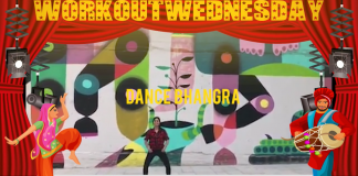 #WORKOUTWEDNESDAY WITH DANCE BHANGRA
