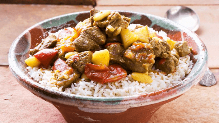 Lamb and Vegetables Curry  - indian meals