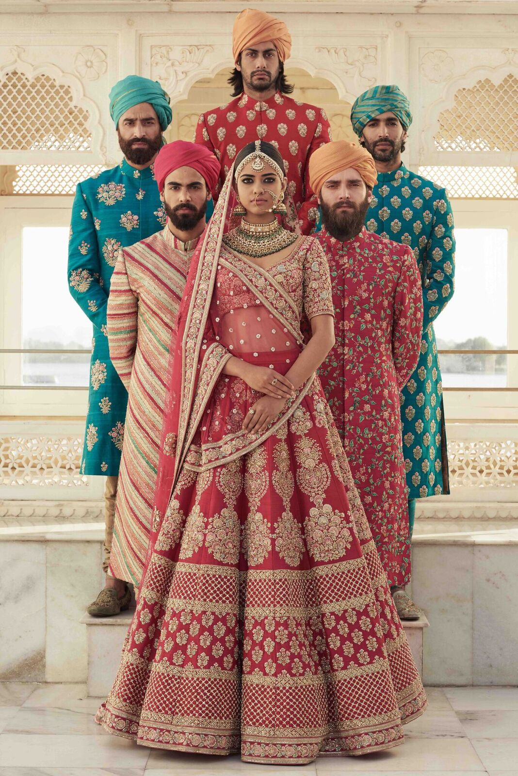 Sabyasachi Wedding Outfits coming to AASHNI + CO WEDDING SHOW 2018