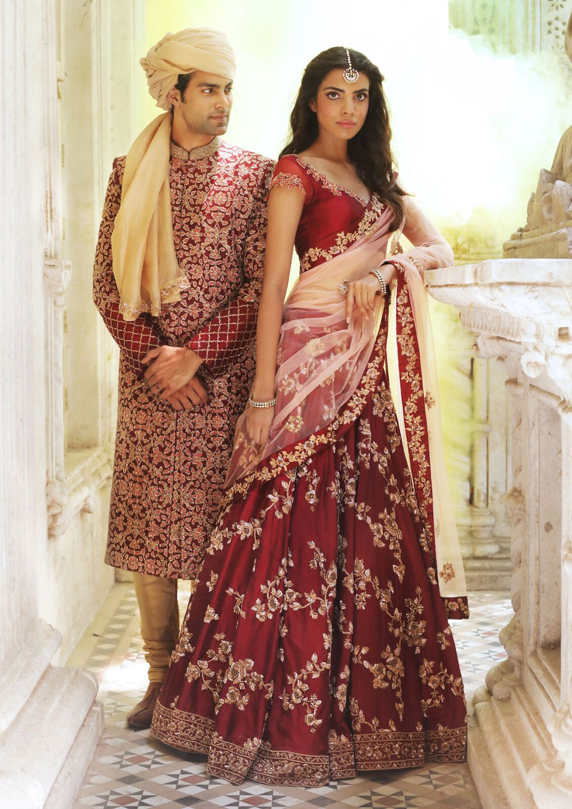 Shyamal & Bhumika couture