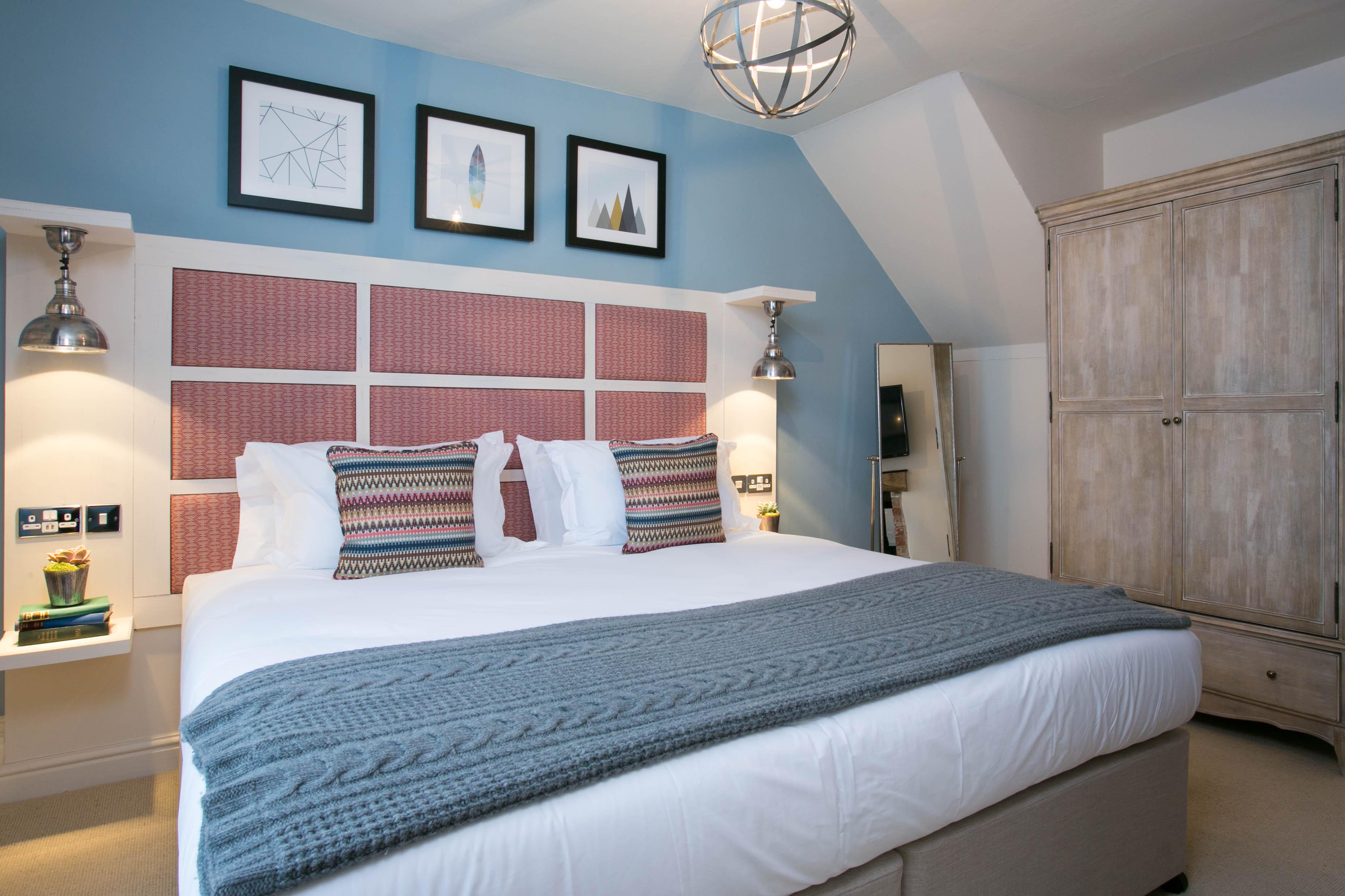 The Farmhouse at Mackworth bedroom