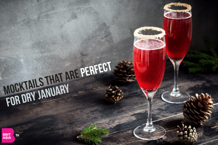 MOCKTAILS THAT ARE PERFECT FOR DRY JANUARY