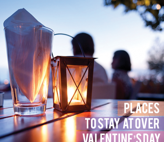 PLACES TO STAY AT OVER VALENTINE'S DAY