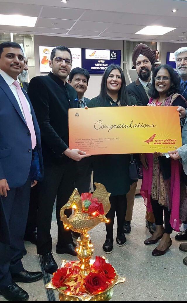 Air India celebrations