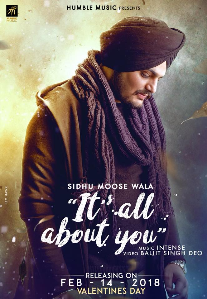 NEW RELEASE: SIDHU MOOSE WALA – ITS ALL ABOUT YOU
